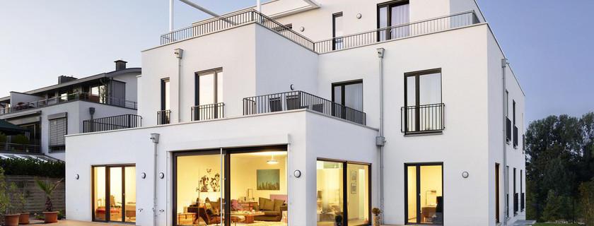 Neubau eines Mehrfamilienhauses mit 5 Wohneinheiten, Räumen für den Neusser Kanuclub und Tiefgarage