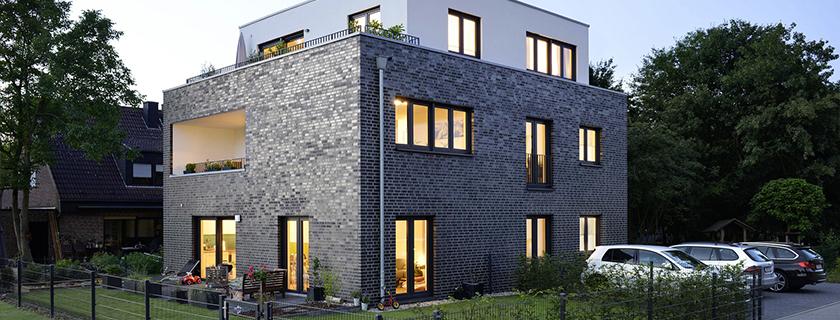 Neubau eines Mehrfamilienhauses mit 3 Wohneinheiten
